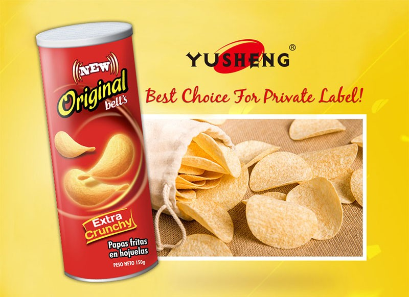 Pringles Style Potato Chips Hot selling