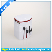 Electrical Universal International All in One US UK AU EU / european AC Travel Power Plug Conversion adapter supplier