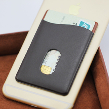 mobile phone wallet case PVC leather card holder