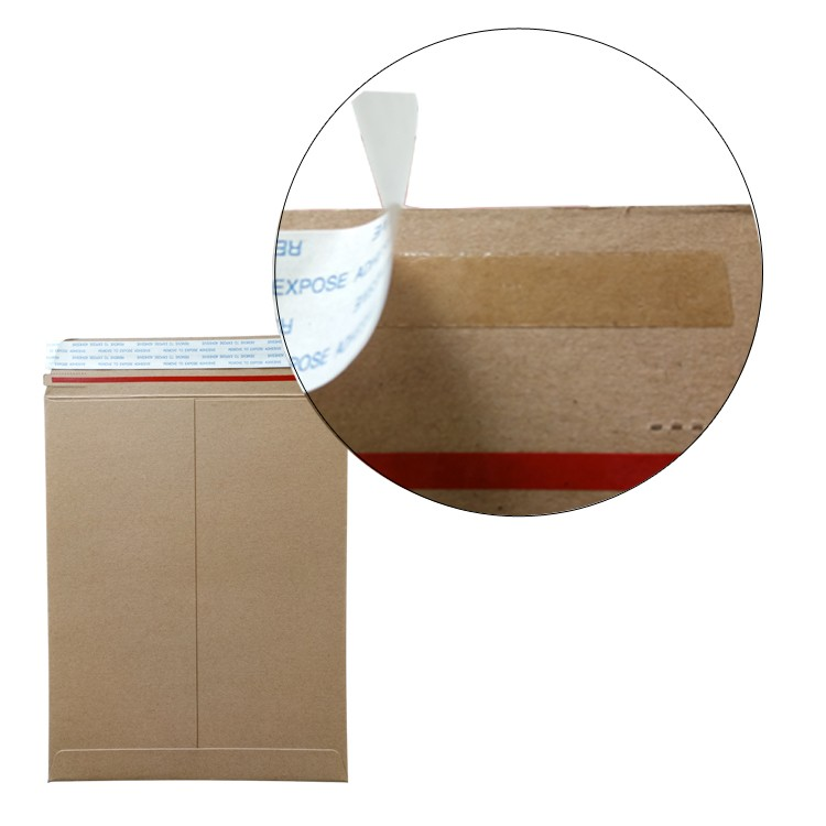 Strong glue delivery mailers green custom printed coin envelopes