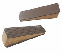 New design doorstop hot sale customized package rubber flexible door stoppers rubber with wooden doorstops