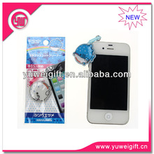 Custom PVC earphone jack dust cap plug for promotion