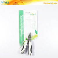 SFI0003B2 FDA qualified multi function folding stainless steel fishing clamps