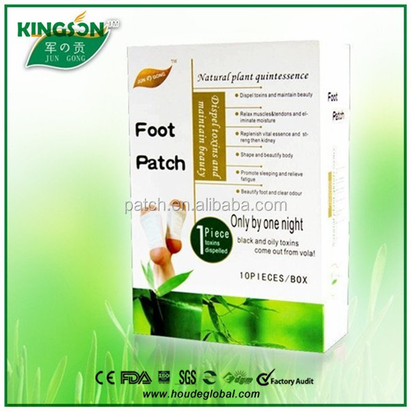 Wood Vinegar Detox Foot Patch,CE and MSDSapproved detox foot patch