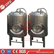 Hot Sales Brewery using Stainless Steel 316 Double layer Beer Storage equipment, clear beer tanks