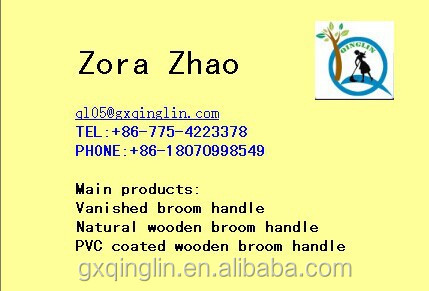 made in china fancy broom handles