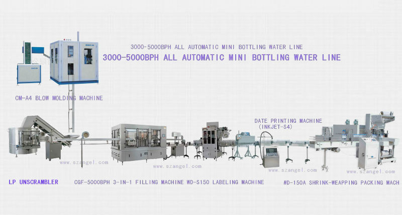 4000BPH Automatic Water Bottling Plant