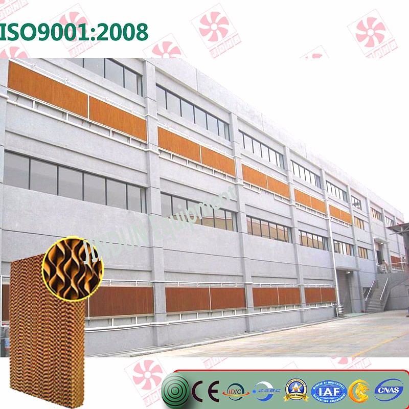 Evaporative cooling pad /high quality exhaust fan is made in China*