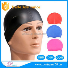 Various Fashion Color Silicone funny swimming cap,Novelty swimming cap