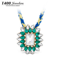 T400 2015 Green Fashion Pendant Necklace Made With Austrian Crystal Engagement Jewelry #10650 Long Island Ice Tea