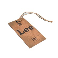 custom vintage paper clothing tags jeans hang tags for garment
