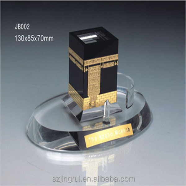 cheap crystal building miniature kaaba JB002
