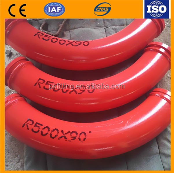 Factory Direct Concrete Pump Parts Sany Trailer Pump Bend Pipe And For Sale