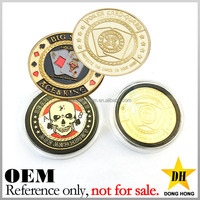 promotion novelty size souvenir cheap custom gold plated tungsten coin