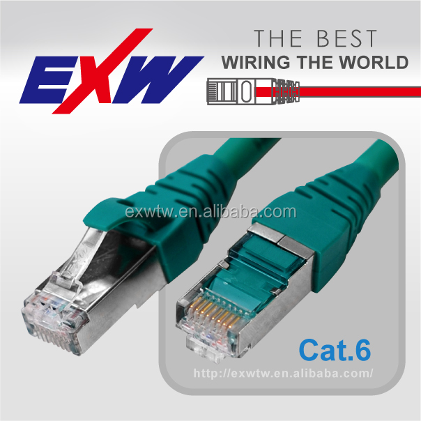 Wholesale high speed network cat ftp lan 6a rj45 8p8c connector patch cords