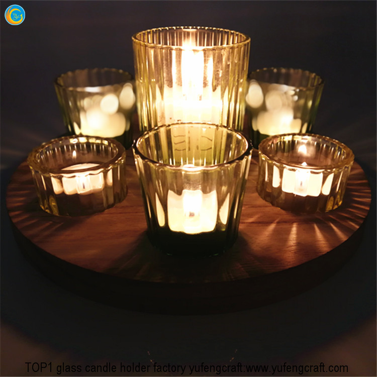 Set of 7 glass candle jar making supplies yufengcraft