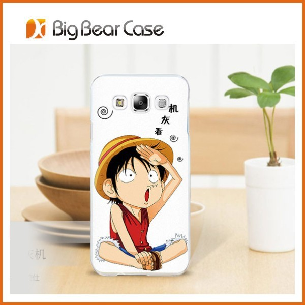 Custom cell phone cover for samsung galaxy e5 hard case