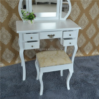Girls modern dressing table with mirror for bedroom