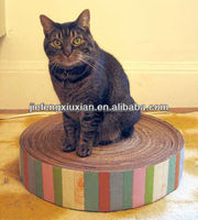 Lounge Sofa Recycled Paper corrugated cardboard bed for cat
