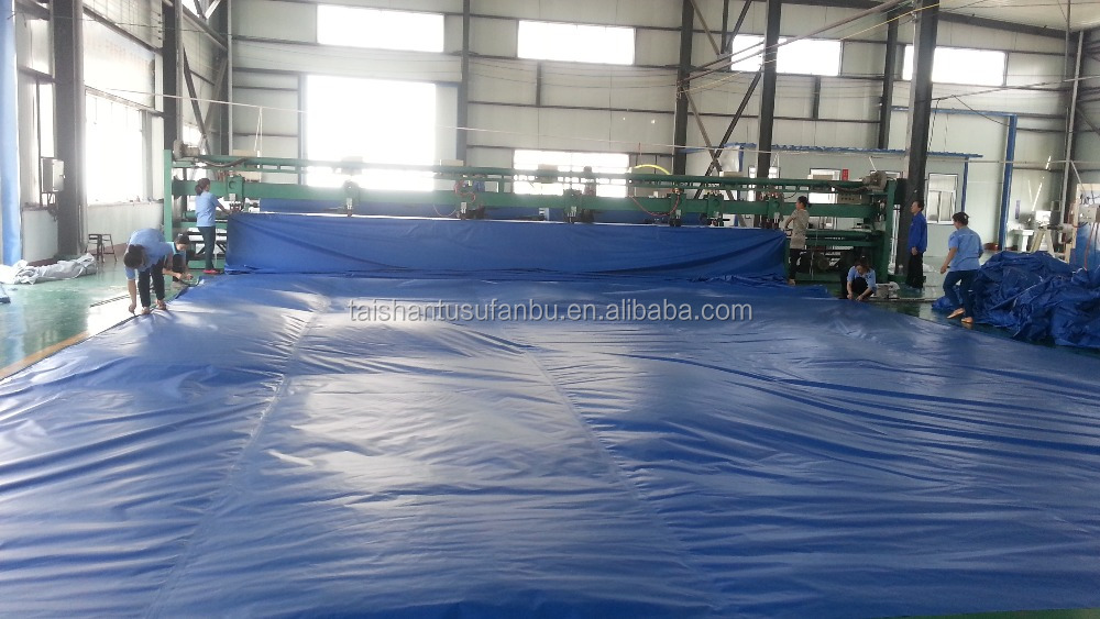 For industrial use, outdoor, various cover materials by pvc coated tarpaulin