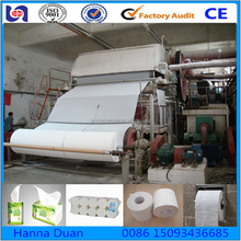 1092mm small toilet paper manufacturing machine tissue toilet paper making machine napkin paper making machine