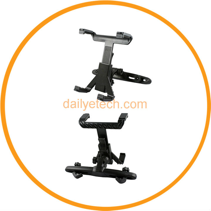 Rotatable Backseat Head Rest Car Mount Holder for iPad 1 2 3 7 inch Tablet GPS DVD Holder from dailyetech