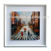 High Grade Beautiful Abstract City Painting for living room