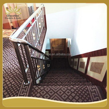 best selling waterproof carpet with pvc backed for stairs
