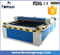 Fast speed!!! 1325 Co2 laser cnc cutting machine for word, fabric with cheap laser cnc router price