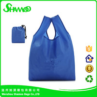 reusable 190T polyester shopping tote bag