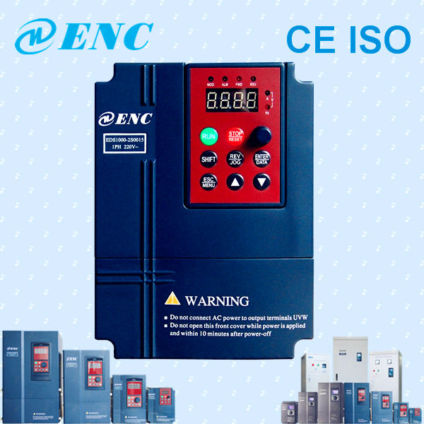EDS1000 High performance Close-loop large power vector control ac frequency inverter Converter 50hz 60hz 220v 380v 440v