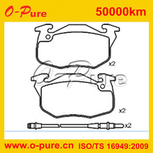 sells well French auto parts brake pad for citroen, peugeot, renault
