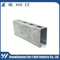 Stainless Steel Unistrut Hot Dip Metal Channel