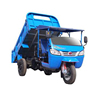 Quality-Assured cargo tricycle/garbage truck with hydraulic lifter