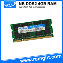 4gb pc2-6400 ddr2 sodimm 800mhz 200-pin memory ram