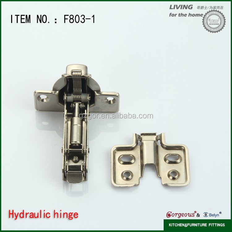 Iron tail hydraulic door closer mepla cabinet hinge