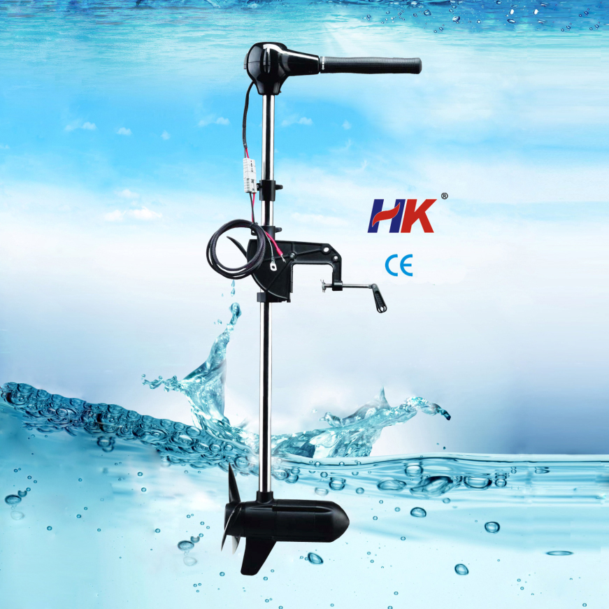 Brushless electric trolling motor