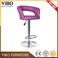 commercial metal reliable quality professional design rattan weave bar stool swiveling popular factory direct sale