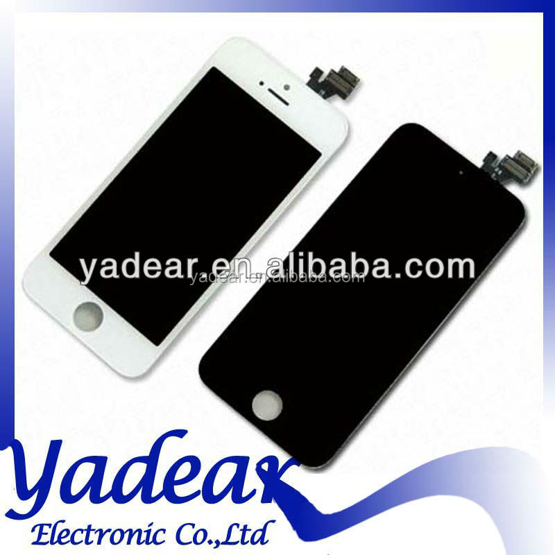 Foxconn display screen aaa For Iphone 5 lcd touch screen replacement for Iphone 5