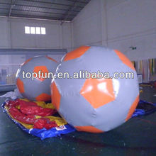 custom cololrful inflatable water football
