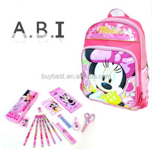 promotional cheap back to school stationary set for kids