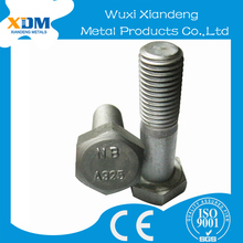 heavy duty alloy steel astm a325 stainless steel hex bolts