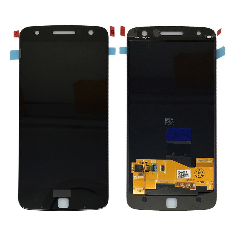 replacement parts display assembly original lcd for Moto <strong>Z</strong> XT1650 lcd