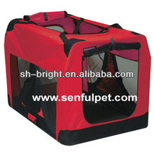 Pet Carrier Dog House Soft Portable Crate Travel Kennel