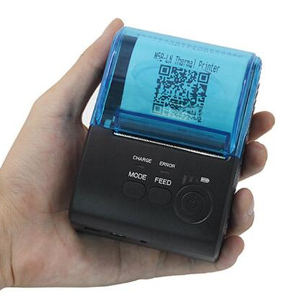 Mini Portable 58mm Bluetooth Thermal <strong>Printer</strong> Wireless Receipt USB Bluetooth <strong>Printer</strong> For Windows Android IOS POS <strong>Printer</strong>