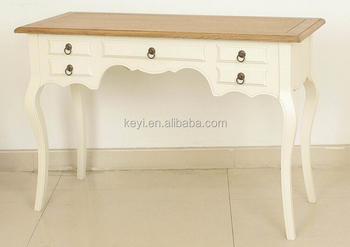 Wooden Desk french style