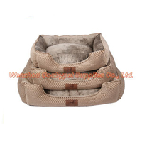 pattern furry sofa fabric dog bed pets accesories novelty cushions bulk pet supplies