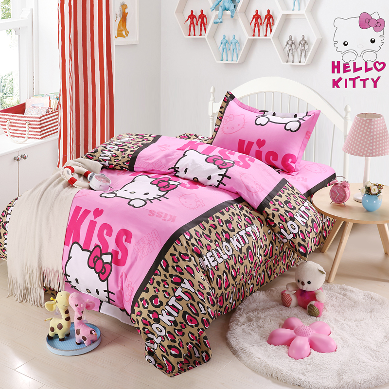 Nantong Textile 100% cotton 3pcs printed bedding set