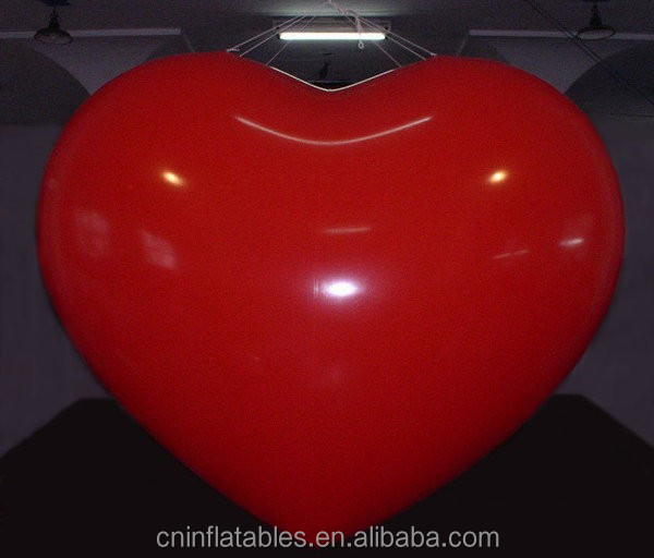 Inflatable Large Red Heart