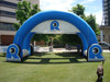 customized shapes rectangle gate giant inflatable gantry attractive entrance rach
